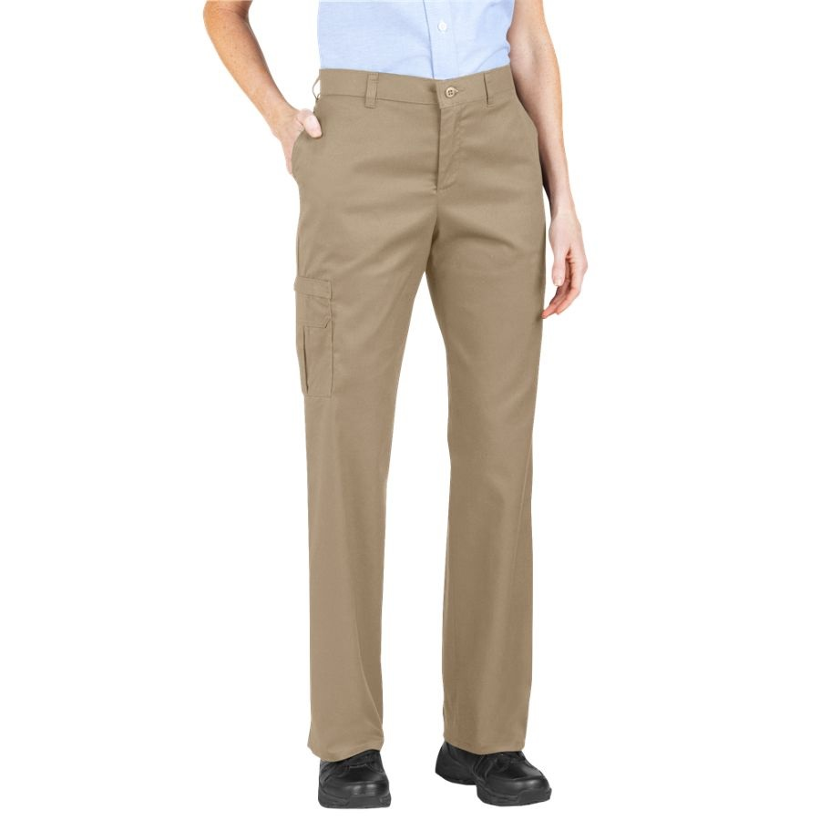 Unique Dickies Womens Original Work Pant With Wrinkle And Stain Resistance