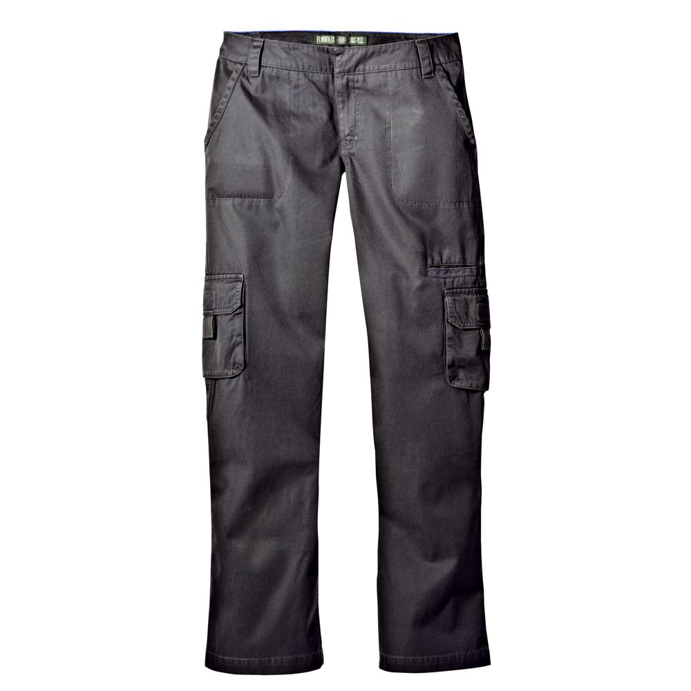 Unique Peachedcotton Construction Of Dickies Womens Relaxed StraightLeg Cargo Pants Boasts A Garmentwashed Surface That Delivers Comfy, Cozy, Nexttoskin Softness For Hundreds Of Wears To Come Two Bellowes Cargo Pockets With Hook