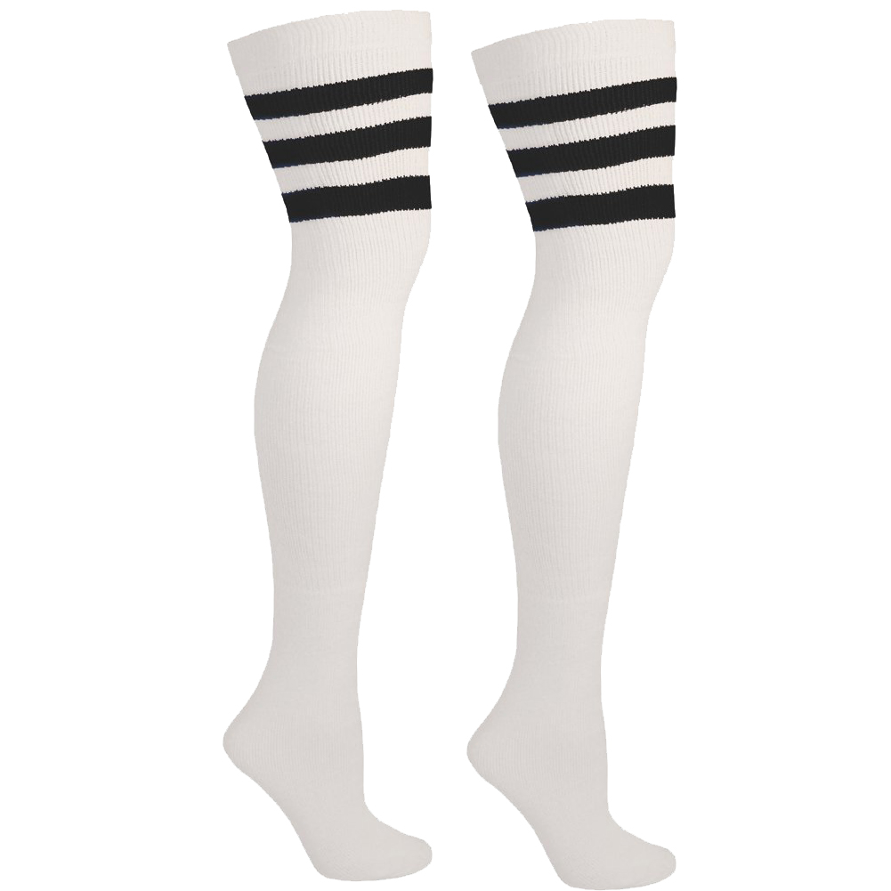 Over the Knee Socks with Stripes for Costumes, Outfits, and more! | Thigh  High