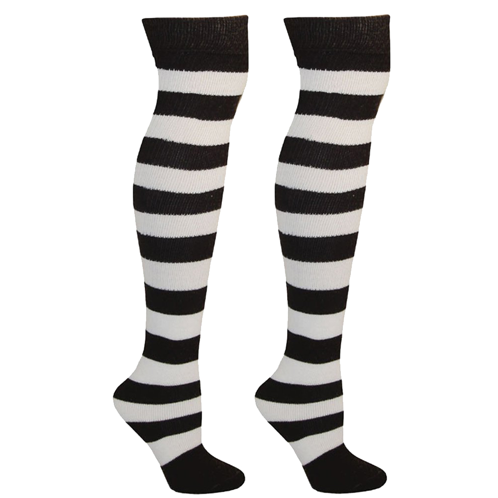 8df79d17c24 Striped Knee High Socks