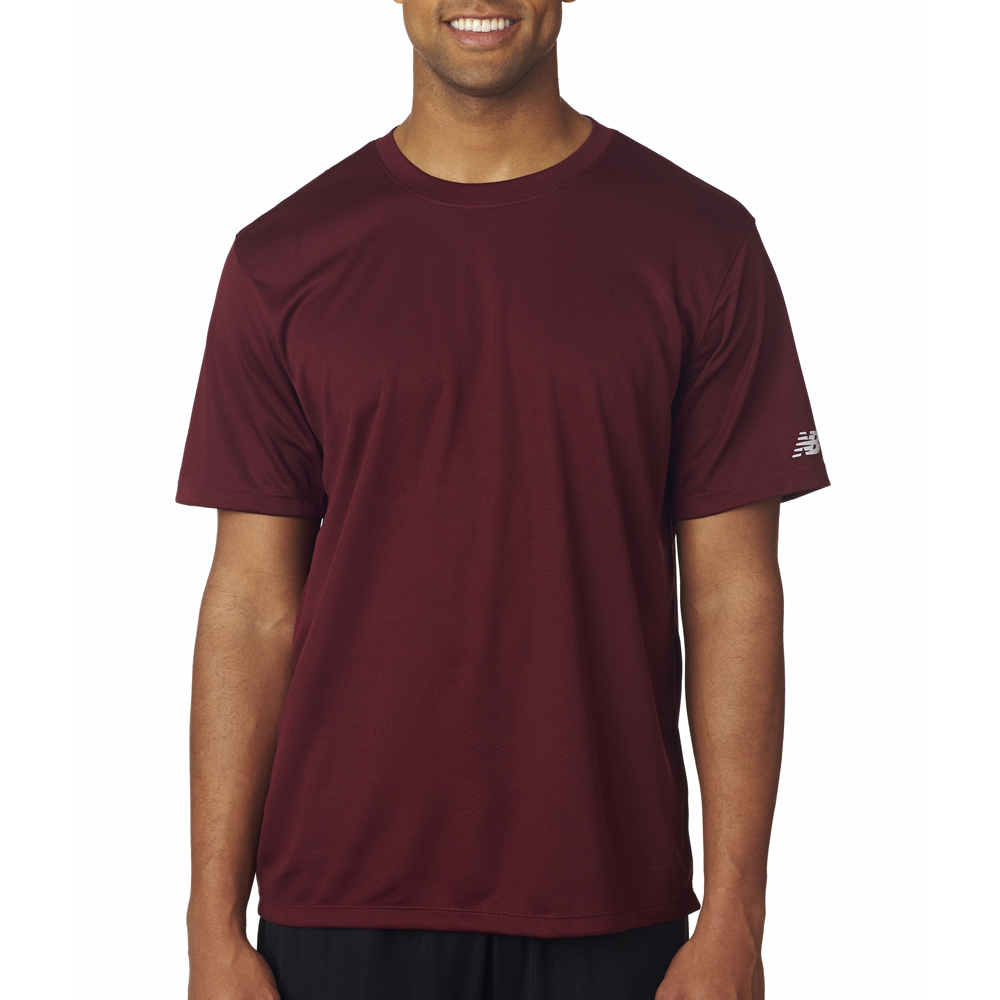 new balance brown t shirt