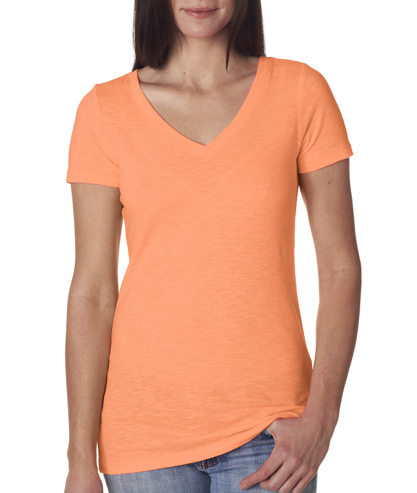 Neon Heather Orange