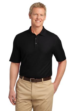 Harriton Mens 5-Ounce Blend-Tek Polo Shirt Navy 5XL